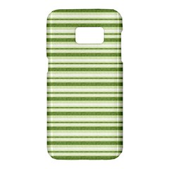 Spring Stripes Samsung Galaxy S7 Hardshell Case  by designworld65