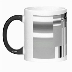 Black And White Endless Window Morph Mugs by designworld65