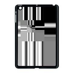 Black And White Endless Window Apple Ipad Mini Case (black) by designworld65