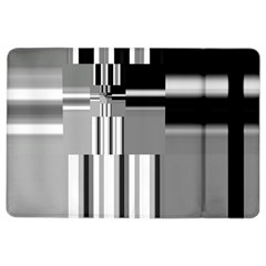 Black And White Endless Window Ipad Air 2 Flip by designworld65