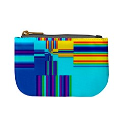 Colorful Endless Window Mini Coin Purses by designworld65
