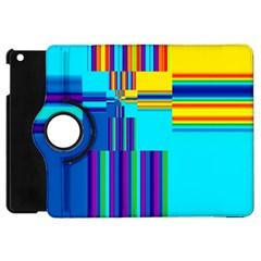 Colorful Endless Window Apple Ipad Mini Flip 360 Case by designworld65