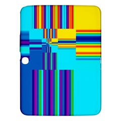 Colorful Endless Window Samsung Galaxy Tab 3 (10 1 ) P5200 Hardshell Case  by designworld65