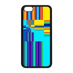 Colorful Endless Window Apple Iphone 5c Seamless Case (black) by designworld65