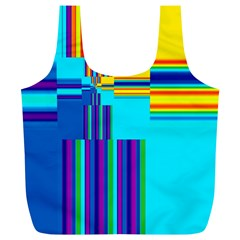 Colorful Endless Window Full Print Recycle Bags (l)  by designworld65