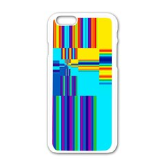 Colorful Endless Window Apple Iphone 6/6s White Enamel Case by designworld65