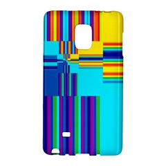 Colorful Endless Window Galaxy Note Edge by designworld65