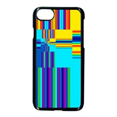 Colorful Endless Window Apple Iphone 7 Seamless Case (black) by designworld65