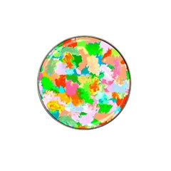 Colorful Summer Splash Hat Clip Ball Marker by designworld65