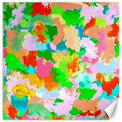 Colorful Summer Splash Canvas 12  X 12   by designworld65
