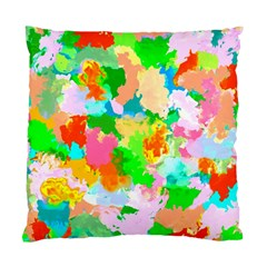 Colorful Summer Splash Standard Cushion Case (two Sides) by designworld65