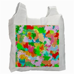 Colorful Summer Splash Recycle Bag (one Side) by designworld65