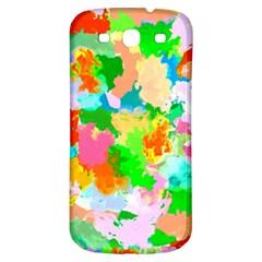 Colorful Summer Splash Samsung Galaxy S3 S Iii Classic Hardshell Back Case by designworld65