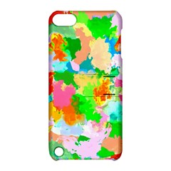 Colorful Summer Splash Apple Ipod Touch 5 Hardshell Case With Stand by designworld65