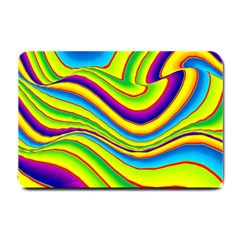 Summer Wave Colors Small Doormat  by designworld65