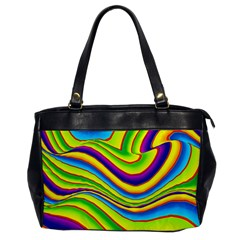 Summer Wave Colors Office Handbags by designworld65
