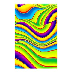 Summer Wave Colors Shower Curtain 48  X 72  (small)  by designworld65