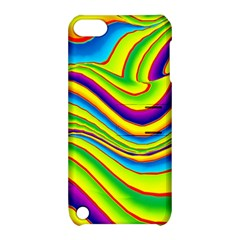 Summer Wave Colors Apple Ipod Touch 5 Hardshell Case With Stand by designworld65