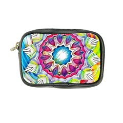 Sunshine Feeling Mandala Coin Purse by designworld65