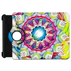 Sunshine Feeling Mandala Kindle Fire Hd 7  by designworld65