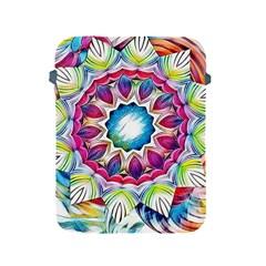 Sunshine Feeling Mandala Apple Ipad 2/3/4 Protective Soft Cases by designworld65