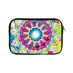 Sunshine Feeling Mandala Apple Ipad Mini Zipper Cases by designworld65