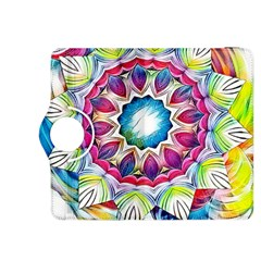Sunshine Feeling Mandala Kindle Fire Hdx 8 9  Flip 360 Case by designworld65
