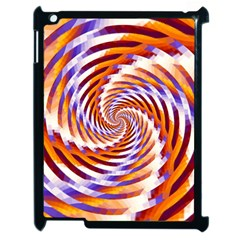 Woven Colorful Waves Apple Ipad 2 Case (black) by designworld65