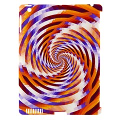 Woven Colorful Waves Apple Ipad 3/4 Hardshell Case (compatible With Smart Cover) by designworld65
