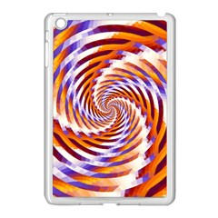Woven Colorful Waves Apple Ipad Mini Case (white) by designworld65