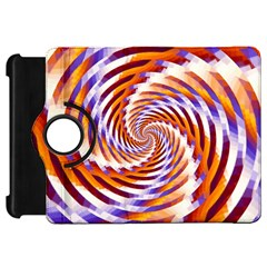 Woven Colorful Waves Kindle Fire Hd 7  by designworld65