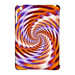Woven Colorful Waves Apple Ipad Mini Hardshell Case (compatible With Smart Cover) by designworld65
