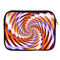 Woven Colorful Waves Apple Ipad 2/3/4 Zipper Cases by designworld65