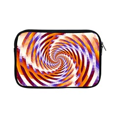 Woven Colorful Waves Apple Ipad Mini Zipper Cases by designworld65