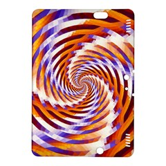 Woven Colorful Waves Kindle Fire Hdx 8 9  Hardshell Case by designworld65