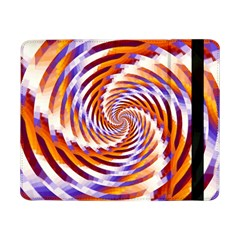 Woven Colorful Waves Samsung Galaxy Tab Pro 8 4  Flip Case by designworld65