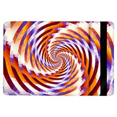 Woven Colorful Waves Ipad Air Flip by designworld65
