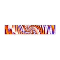 Woven Colorful Waves Flano Scarf (mini) by designworld65