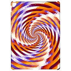 Woven Colorful Waves Apple Ipad Pro 12 9   Hardshell Case by designworld65