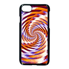 Woven Colorful Waves Apple Iphone 7 Seamless Case (black) by designworld65