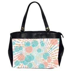 Bubbles Office Handbags (2 Sides)  by linceazul