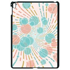 Bubbles Apple Ipad Pro 9 7   Black Seamless Case by linceazul