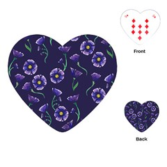 Floral Playing Cards (heart)  by BubbSnugg