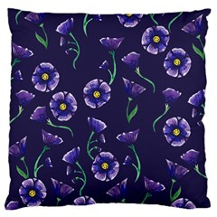 Floral Large Cushion Case (one Side) by BubbSnugg