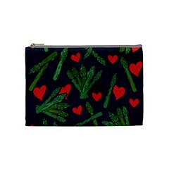 Asparagus Lover Cosmetic Bag (medium)  by BubbSnugg
