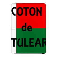 Coton Name Flag Madagascar Samsung Galaxy Tab Pro 12 2 Hardshell Case by TailWags
