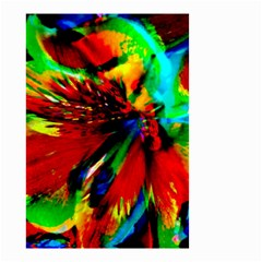 Flowers With Color Kick 1 Small Garden Flag (two Sides) by MoreColorsinLife