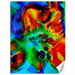 Flowers With Color Kick 2 Canvas 36  X 48   by MoreColorsinLife