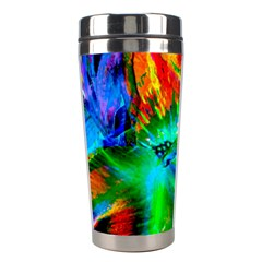 Flowers With Color Kick 2 Stainless Steel Travel Tumblers by MoreColorsinLife