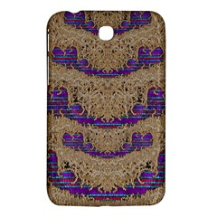 Pearl Lace And Smiles In Peacock Style Samsung Galaxy Tab 3 (7 ) P3200 Hardshell Case  by pepitasart